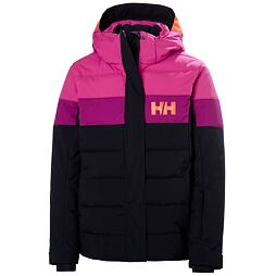 Juniorská zimní bunda Helly Hansen JR Diamond Jacket navy