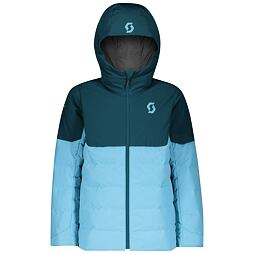 Dětská lyžařská bunda Scott Ultimate Insulated Jr Jacket majolica blue/bright blue