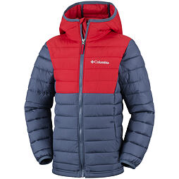 Dětská bunda Columbia Powder Lite Boys Hooded Jacket 478