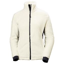 Dámská fleecová bunda Helly Hansen W Precious Fleece Jacket - offwhite