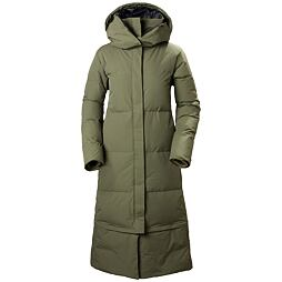 Dámský péřový kabát Helly Hansen W Beloved Winterdream parka lav green