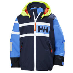 Dětská bunda Helly Hansen K Salt Power jacket evening blue