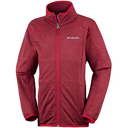 Dětská mikina Columbia Wilderness Way Fleece Jacket 696 Red Spark