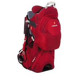 Krosna na děti LittleLife Voyager S4 Child Carrier red nosítko