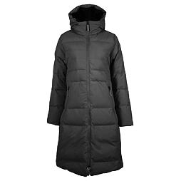 Dámský péřový kabát SKHOOP Long Down Jacket - black