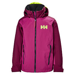 Dětská bunda Helly Hansen JR Ridge jacket very berry