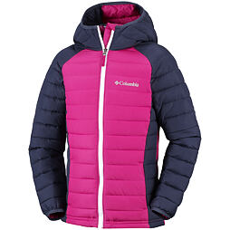 Dětská bunda Columbia Powder Lite GIRLS Hooded Jacket 613