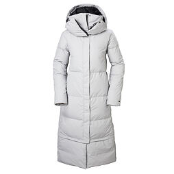 Dámský péřový kabát Helly Hansen W Beloved Winterdream parka- grey