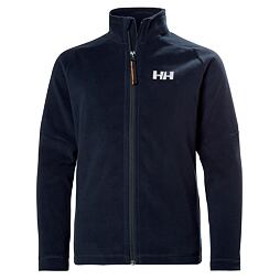 Juniorská fleeecová mikina Helly Hansen JR Daybreaker 2.0. jacket navy