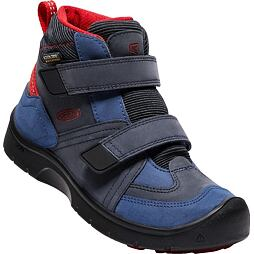 Dětské boty Keen Hikeport Mid Strap WP dress blues/blue nights
