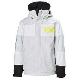 Dětská bunda Helly Hansen JR Salt Port jacket nimbus cloud