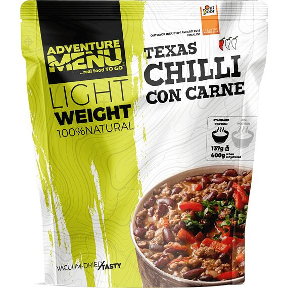 Adventure Menu Chilli con carne