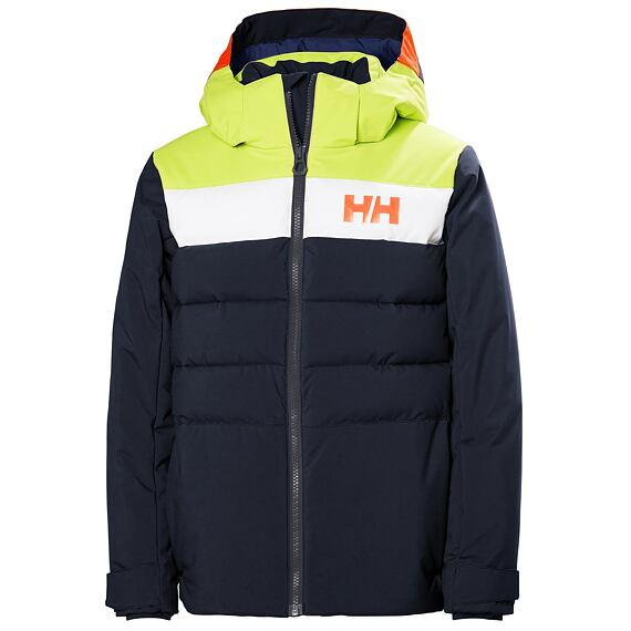 Juniorská zimní bunda Helly Hansen JR Cyclone Jacket Navy